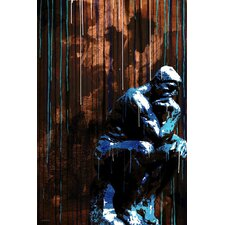 """The Thinker"" Painting Print on Canvas"