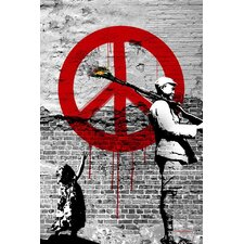 """Time for Peace"" Graphic Art on Canvas"