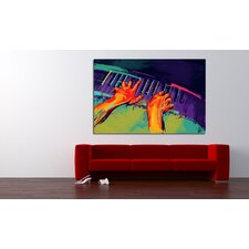 The Player Canvas Print