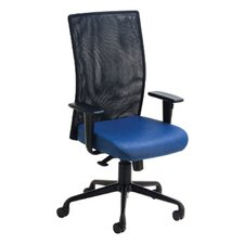 Rete High-Back Mesh Chair with Arms