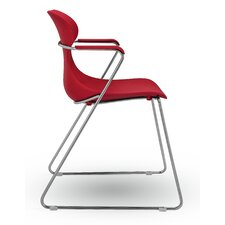 Mariquita Sled Base Arm Chair