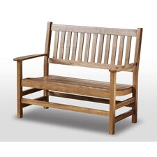 <strong>Hinkle Chair Company</strong> Plantation Solid Harwood Porch Bench