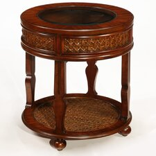 <strong>LaurelHouse Designs</strong> Manila End Table
