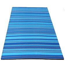 Aqua Woven Rug