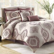 <strong>Soho New York</strong> Bergen 8 Piece Comforter Set