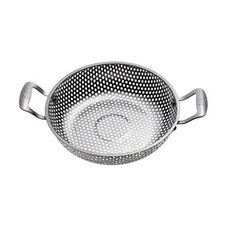 BBQ Stainless Steel Chef's Wok