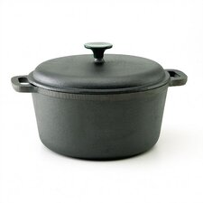 Cast Iron 6-Qt. Round Dutch Oven