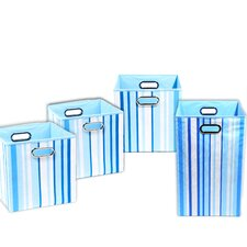 Sky Stripes 4 Piece Organization Bundle Set