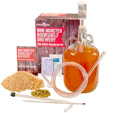 Mini Beer Making Kit with Hydrometer & American Wheat Ingredients