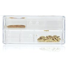 <strong>Danielle Creations</strong> Acrylic 2 Drawer Organizer