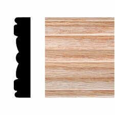 <strong>Manor House</strong> 5/8 in. x 3 in. x 7 ft. Oak Victorian Fluted Casing Moulding