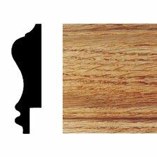 3/4 in. x 2-3/4 in. x 8 ft. Red Oak Wainscot Chair Rail Moulding