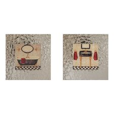 Paris Bath Framed Art (Set of 2)