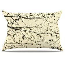 Boughs Neutral Microfiber Fleece Pillow Case