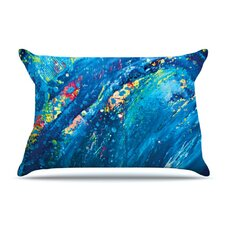 Big Wave Fleece Pillow Case