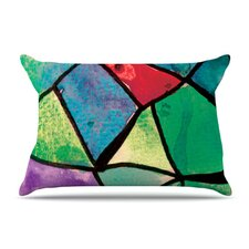 Stain Glass 1 Fleece Pillow Case