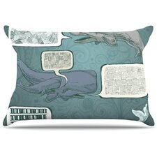 <strong>KESS InHouse</strong> Whale Talk Fleece Pillow Case