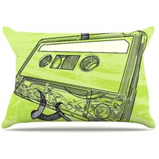 Mixtape Fleece Pillow Case