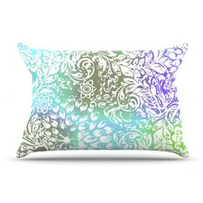 <strong>KESS InHouse</strong> Blue Bloom Softly for You Fleece Pillow Case