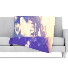 Breathe Fleece Throw Blanket
