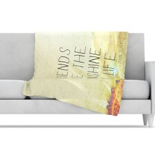 Friends Sunshine Fleece Throw Blanket