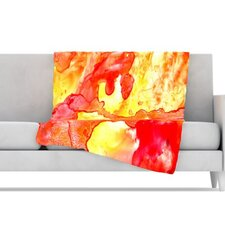 Hot Hot Hot Fleece Throw Blanket