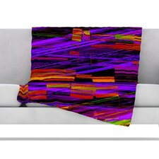 Threads Fleece Throw Blanket