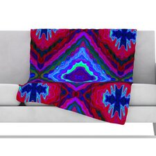 Kilim Fleece Throw Blanket