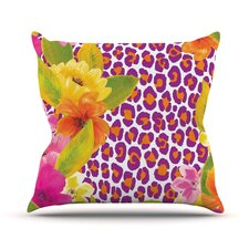 Leopard by Aimee St. Hill Throw Pillow