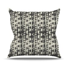 Abstract by Amanda Lane Throw Pillow