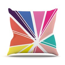 Boldly Bright by Belinda Gillies Throw Pillow