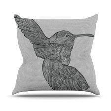 Hummingbird by Belinda Gillies Throw Pillow