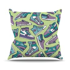 Sneaker Lover IV by Brienne Jepkema Throw Pillow