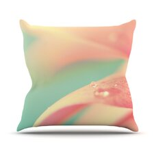 Peach Mint by Bree Madden Throw Pillow
