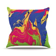 Escaping Reality by Claire Day Throw Pillow