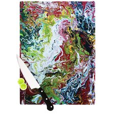 Chaos by Claire Day Cutting Board