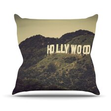 Hollywood by Catherine McDonald Throw Pillow