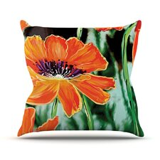 Through the Looking Glass by Christen Treat Throw Pillow