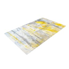 Abstraction Gray/Yellow Area Rug