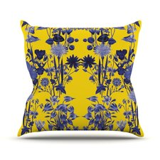 Bloom Flower Throw Pillow