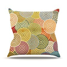 Matias Girl Throw Pillow