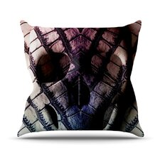 Skull by Danny Ivan Dark Throw Pillow