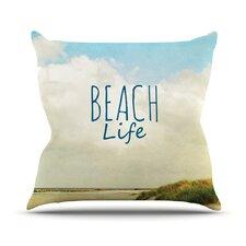Beach Life by Iris Lehnhardt Beach Throw Pillow