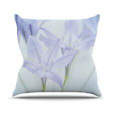 Triplet Lily by Iris Lehnhardt Flower Throw Pillow