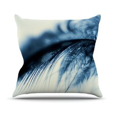 Fall in Blue by Ingrid Beddoes Throw Pillow