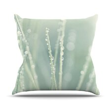 Blue Ice by Ingrid Beddoes Throw Pillow