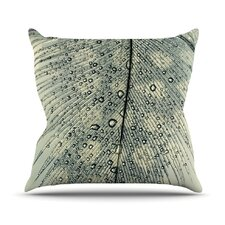 Feather Light by Ingrid Beddoes Throw Pillow