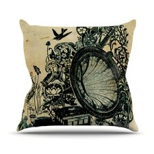 Sound of Nature by Frederic Levy-Hadida Throw Pillow