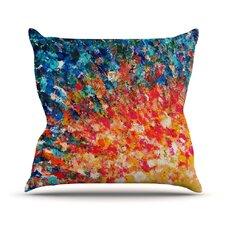 The Clash by Ebi Emporium Throw Pillow