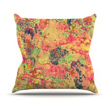 Time For Bubbly by Ebi Emporium Throw Pillow